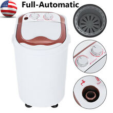 Portable Compact Full Automatic Washing Machine Laundry Washer Spin Dryer Dorm