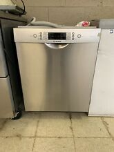 Bosch White Full Console Dishwasher  Eco Sense