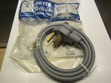 GE 4ft 3 prong wire Dryer Cord NEW