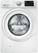 Samsung 4 2 Cu  Ft  8 Cycle High Efficiency Front Loading Washer White NEW