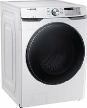 Samsung 4 5 Cu Ft 10 Cycle High Efficiency Front Loading Washer with Steam White