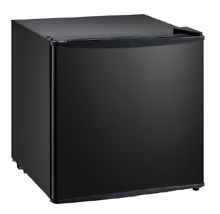 IMPECCA 1 1 Cu  Ft  Compact Upright Freezer   Black