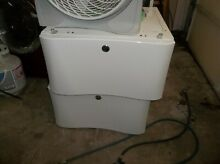 ELECTROLUX FRIGIDAIRE WASHER DRYER SET OF PEDESTALS WHITE  PICK UP ONLY