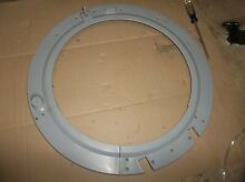 NICE  LG FRONT LOAD WASHER DOOR GLASS HOLDER GRAY  FROM MODEL WM2301HR