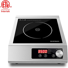 Professional Commercial Portable Induction Cooktop  ECOTOUCH Countertop Burner 3