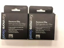 2 Pack Kenmore Elite 469918 Refrigerator Air Filter