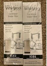 2 pack OEM Replacement for Ice Maker Water Filter Whirlpool F2WC9I1 ICE2   New
