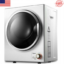 Wall Mounted Stainless Steel Compact Electric Clothes Dryer 10lbs Cloth Capacity
