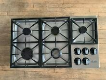 Dacor Stainless Steel 36 in  Gas Cooktop 5 Burner