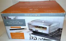 BakerStone Pizza Box  GAS STOVE TOP OVEN  Stainless Steel    NEW IN OPENED BOX