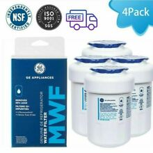 4Pack Smartwater For GE MWF Water Filter FITS GWF 9905 GWFA HWF MWFP 46 9991