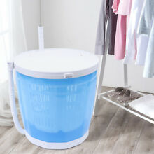 Mini Handle Washing Machine Portable Washer Spin Dryer Traveling Outdoor Camping