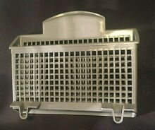 OEM Bosch Thermador Dishwasher Small Item Basket Cutlery Basket Gray SGZ1052UC