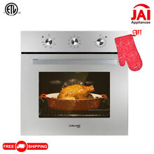 Gasland Chef ES609MS 24  Built in Single Wall Oven with 9 Cooking Function