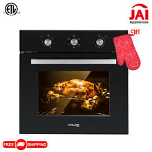 Gasland Chef ES606MB 24  Built in Single Wall Oven with 6 Cooking Functions