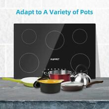 24 Inch Electric Cooktop  Kuppet Built In Induction Cooktop Vertical with 4 Burn