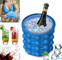 Silicone Ice Maker Bucket Fast Cold Ice Bucket Space Saving Portable Ice Maker