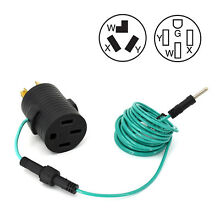Washer Dryer Adapter Cord 4 Prong Plug to 3 Wire Receptacle 14 30P 10 30R 18