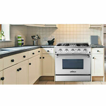 30  Range w  Gas Stove and Gas Oven in Stainless Steel 4 2 Cu ft HRD3088U Thor