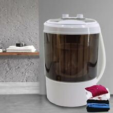 Compact Portable Washer   Dryer with Mini Washing Machine and Spin Dryer Black
