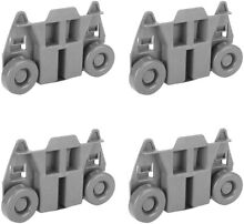 4 pk W10195416 Dishwasher Wheel Replacement Parts Compatible Maytag and Kenmore