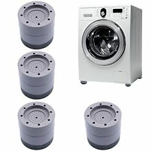 Shock and Noise Cancelling Washing Machine Support  Dryer Pedestals Anti Slip An