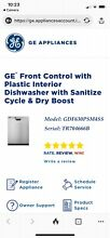 GE DISHWASHER STAINLESS W  PLASTIC TUB BRAND NEW STILL IN THE BOX