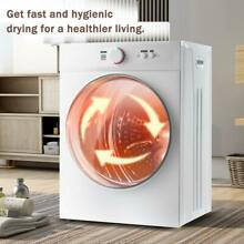 Automatic 6 6 lbs Capacity Electric Compact Portable Dryer 5 Drying Modes 2021