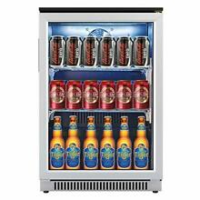 20 Inch Wide Beverage Refrigerator and Cooler  Auto Defrost Small Fridge with