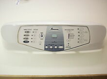 Maytag Amana Front Load Washer LED Console  Y2207692   WHITE