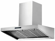 New  36  European Style Range Hood 16A with Baffle Filter