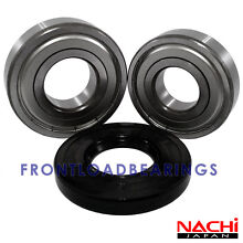NEW FRONT LOAD GE WASHER HIGH QUALITY BEARINGS   SEAL KIT WH45X10007