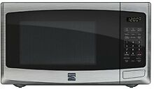 Kenmore 0 9 Cu  Ft  Countertop Microwave Stainless Steel 73093