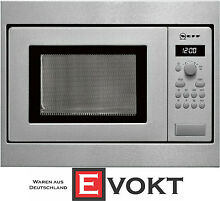 Neff HW 5350 N Built In Microwave Oven Stainless Steel 17L 800W Genuine NEW