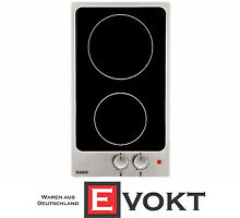 AEG HK312000M B Domino glass ceramic hob self sufficient