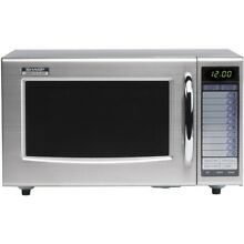 Sharp R21AT Medium Duty Programmable Microwave Oven    Boxed New