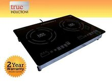 True Induction Cooktop MD 2B   Mini Duo   Double Burner Cook top   Counter Inset
