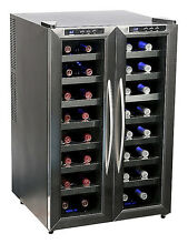 Whynter   32 Bottle Wine Cooler   Stainless steel