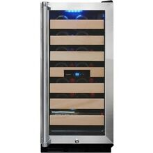 Vinotemp   Wine Cooler   Black