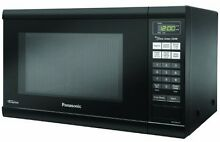 Panasonic NN SN651BAZ Black 1 2 Cu  Ft Countertop Microwave Oven
