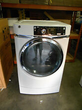 GE GFDR270EH0WW WHITE 4 5CU FT FRONT LOADING GAS Dryer  NEW