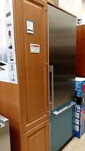 Miele KF1801SF 30  Built in Fully Integrated Bottom Freezer Refrigerator  RH