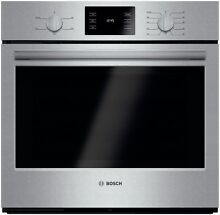Bosch HBL5351UC 30  500 Series Electric Single Wall Oven in Stainless Steel