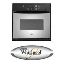 Whirlpool RBS245PRS 24 Inch Single Electric Wall Oven Stainless Steel