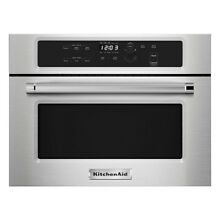 NEW KITCHENAID KMBS104ESS 24 Built In Microwave With 27 30 Trim Kits