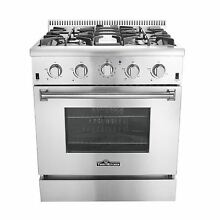 30  Thor kitchen Gas Range With 4 Burners Oven Cooker Stainless Steel HRG3026U