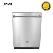 Thor Kitchen 24  Semi built in Automatic Dishwasher Stainless Steel HDW2401SS