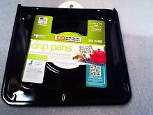 Lot of 4 Range Kleen 9 Inch Drip Pan for Gas Ranges