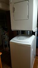 Kenmore washer   dryer and stack stand