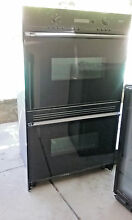 DACOR DOUBLE CONVECTION PLUS OVEN  BLACK MODEL CPO230B